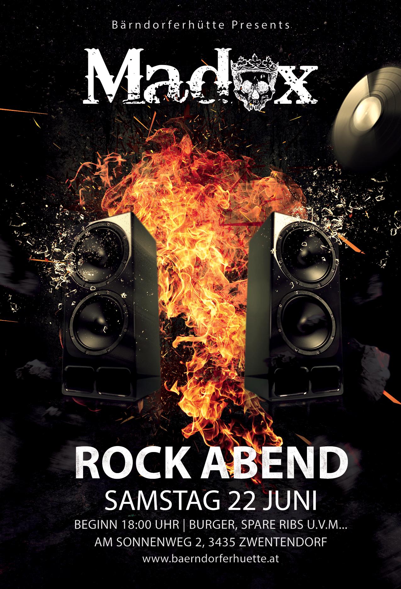 Rock Abend - Live mit MADOX